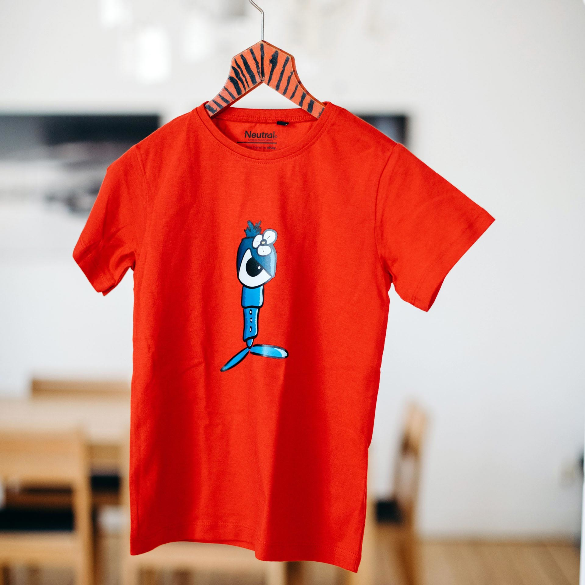 kinder t-shirt driz in rot