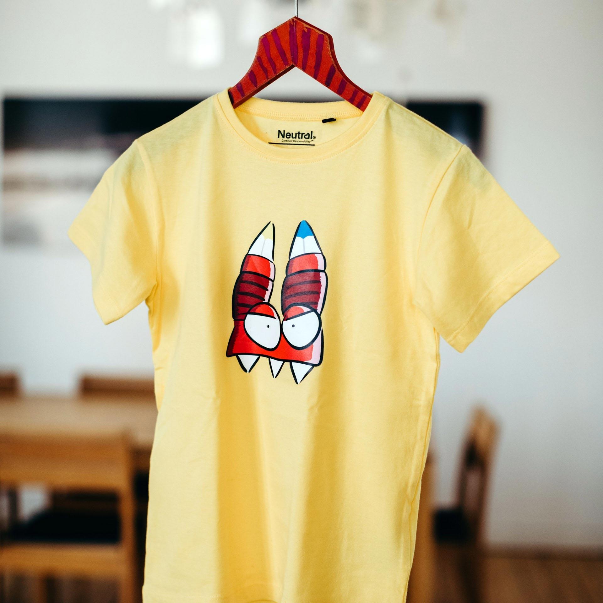 Kinder T-Shirt URB in gelb