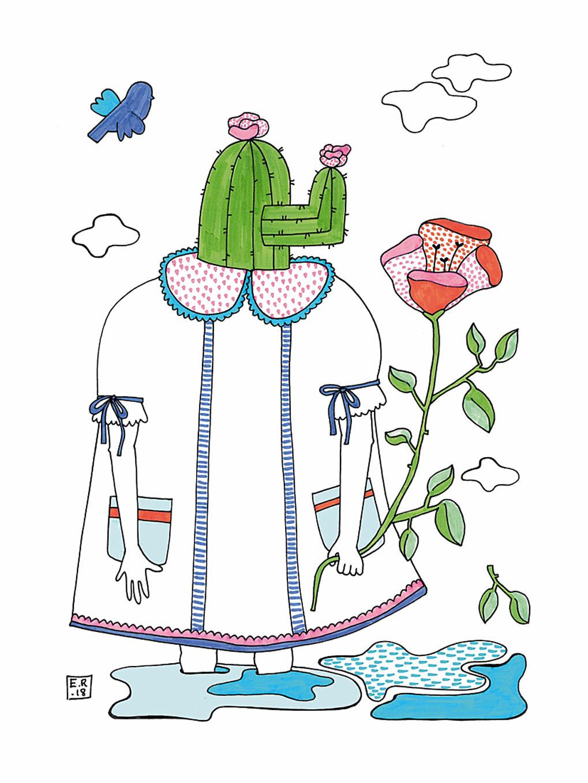 Cactus girl Emma Rytoft