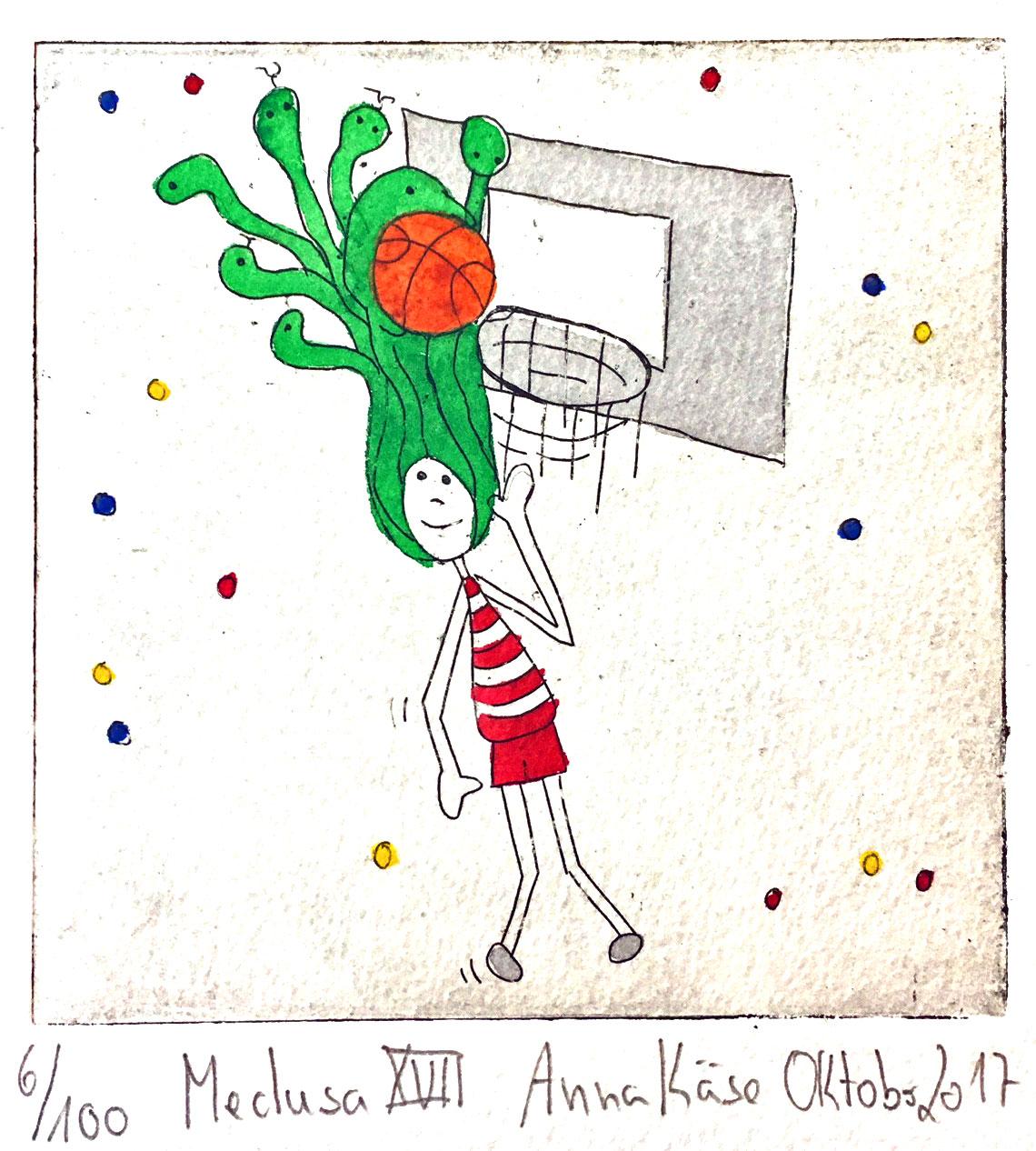 medusa basketball anna kaese