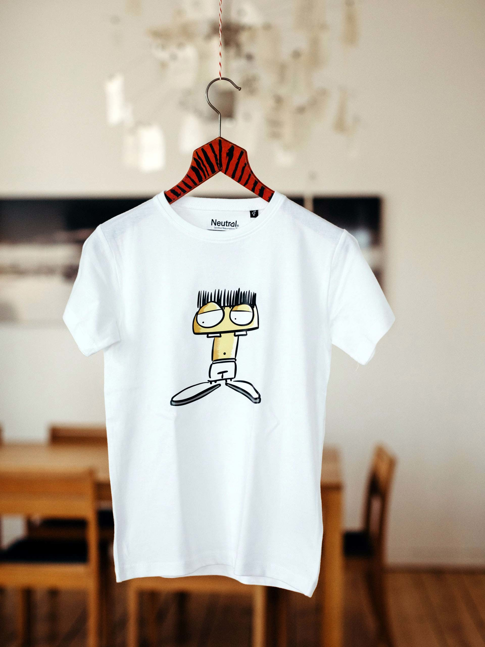 kids t-shirt arti white