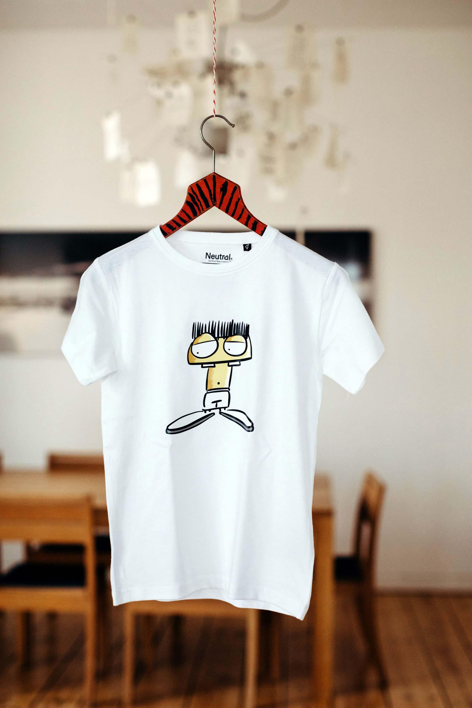 kinder t-shirt arti weiss