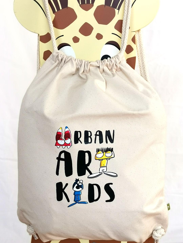 beutel urban art kids weiss