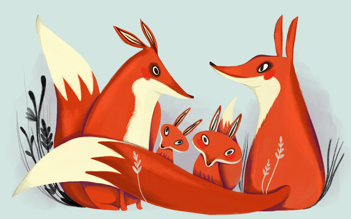 Vanessa Tremain Foxes
