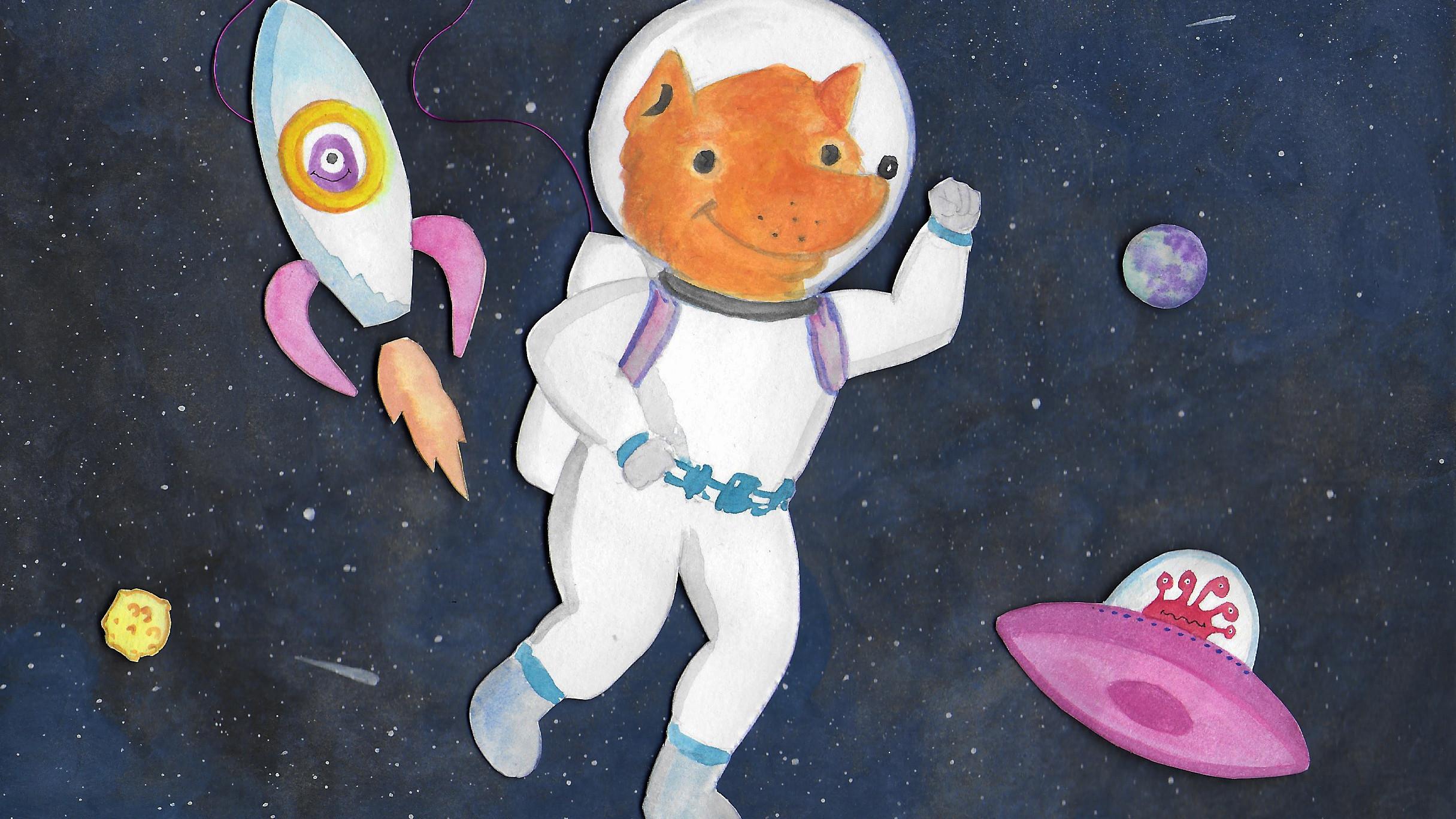 Workshop am Donnerstag Character-Design Ein Ausflug ins Universum