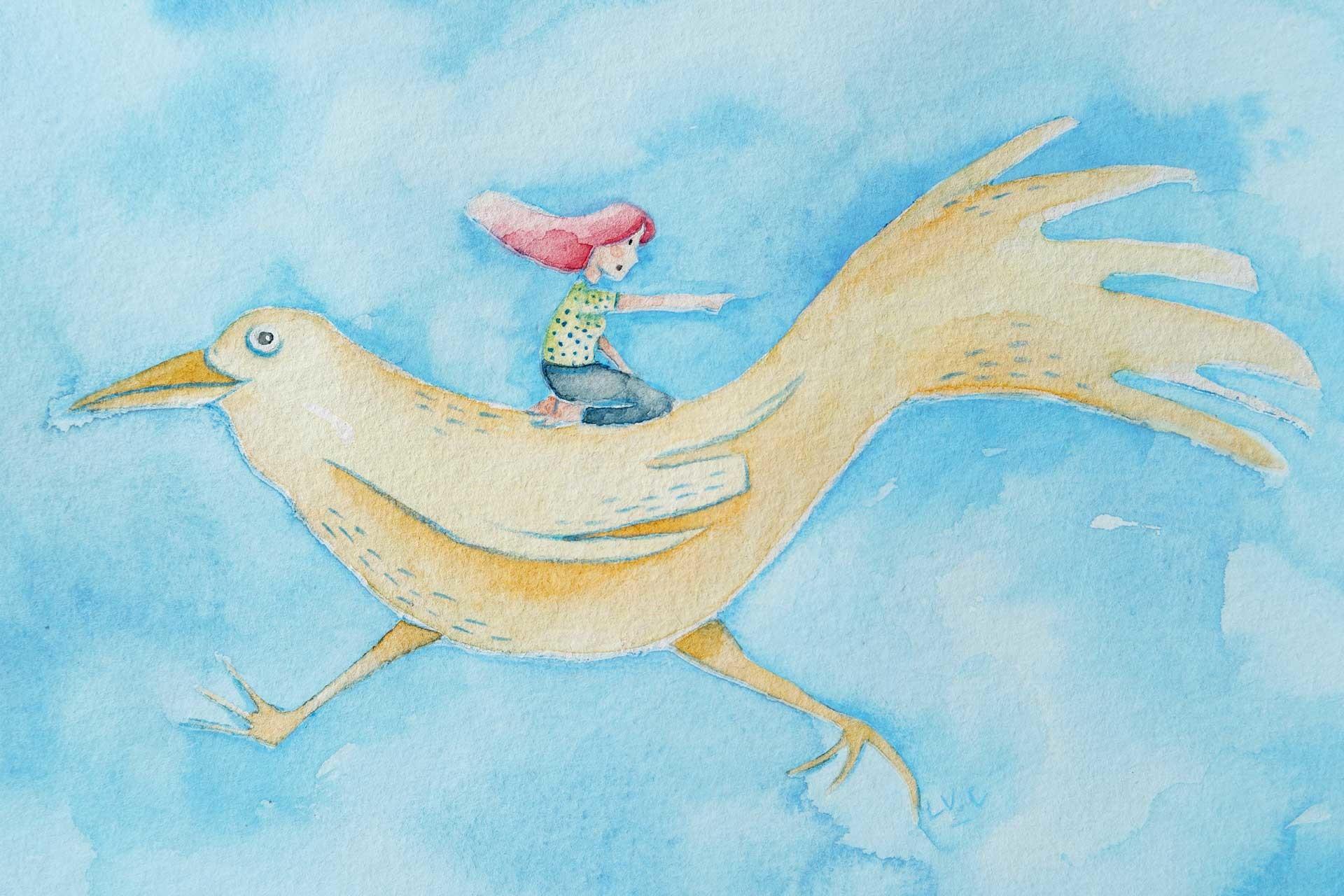 Lujan Cordaro Bird Girl