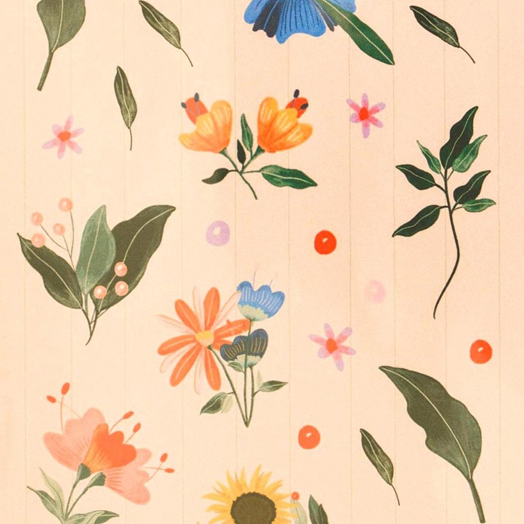 Blumen Stickers