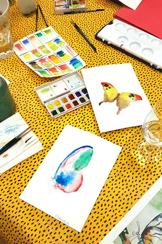 Watercolor Workshop Adults